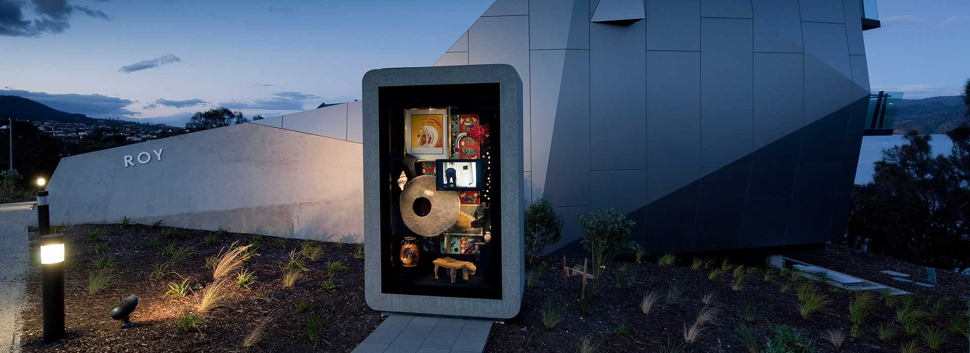 The Museum of Old and New Art (MONA) was founded by Australian collector David Walsh in Hobart, Tasmania, in 2011.
