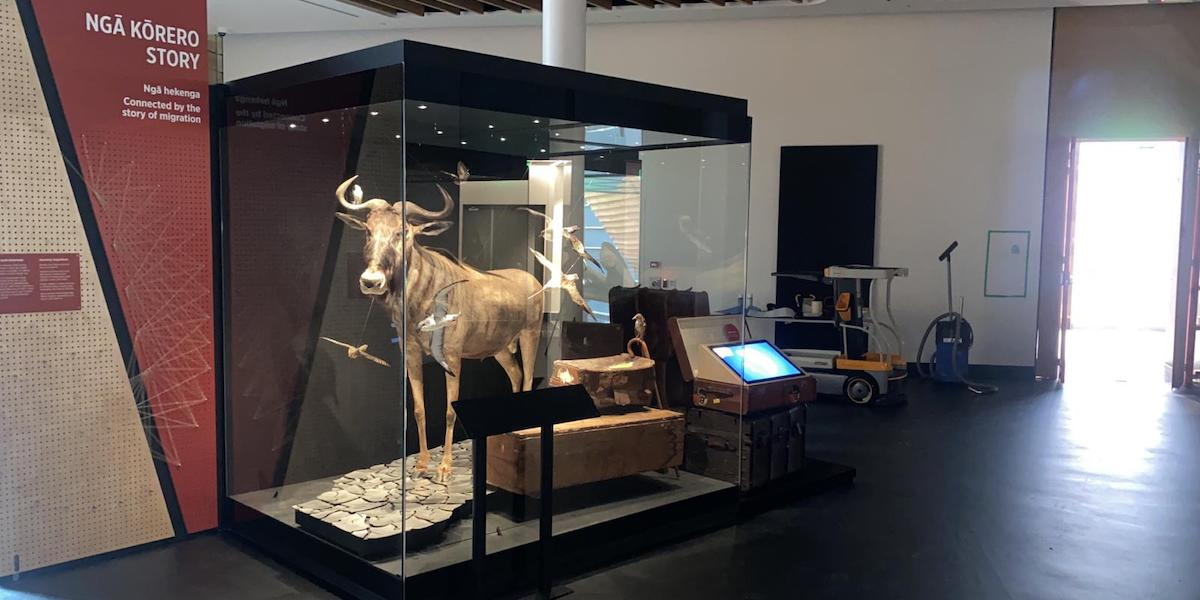 European Museum Technology Museum Showcase fabrication