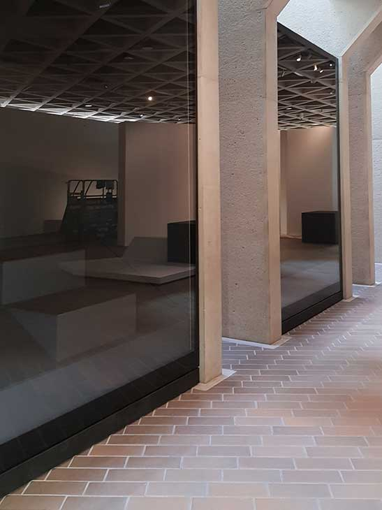 European Museum Technology Architectural Glass Installation
